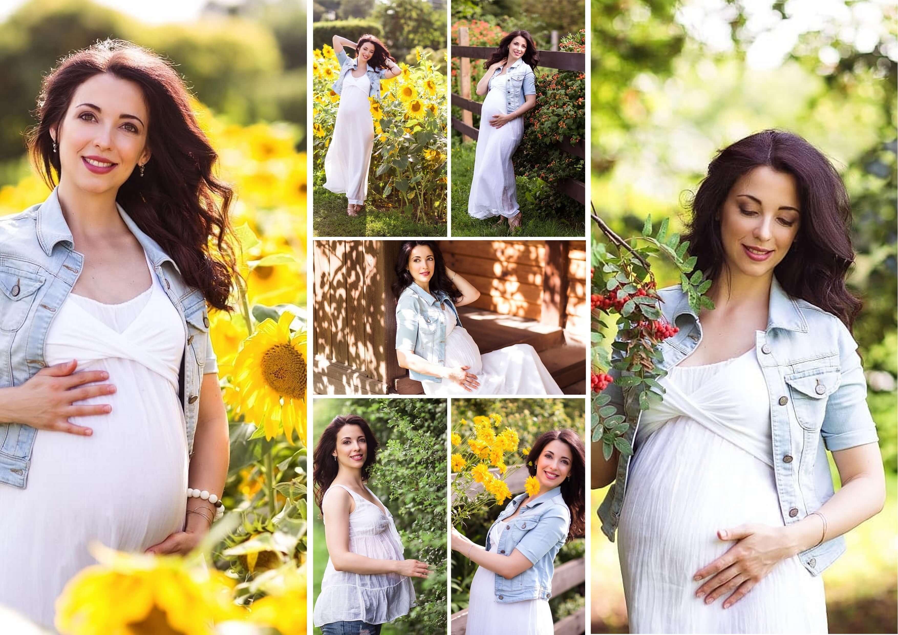 фотоколлаж твоей беременности